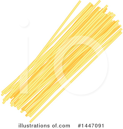 Spaghetti Clipart #1447091 by Vector Tradition SM
