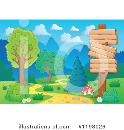 Hiking Clipart #1193026 by visekart