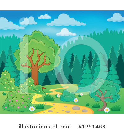 Hiking Clipart #1251468 by visekart