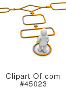 Royalty-Free (RF) Path Clipart Illustration #45023