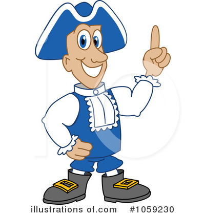 Royalty-Free (RF) Patriot Clipart Illustration by Toons4Biz - Stock Sample #1059230