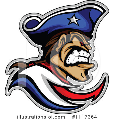 Royalty-Free (RF) Patriot Clipart Illustration by Chromaco - Stock Sample #1117364