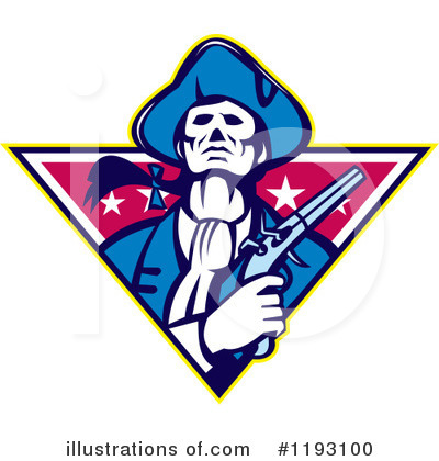 Patriot Clipart #1193100 by patrimonio