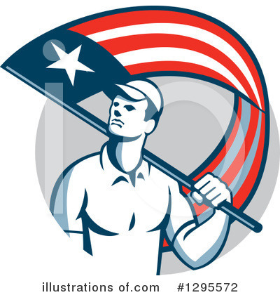 Patriot Clipart #1295572 by patrimonio
