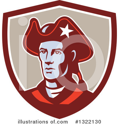 Royalty-Free (RF) Patriot Clipart Illustration by patrimonio - Stock Sample #1322130