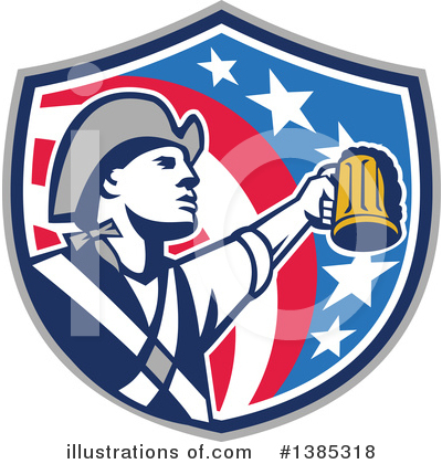 Patriot Clipart #1385318 by patrimonio