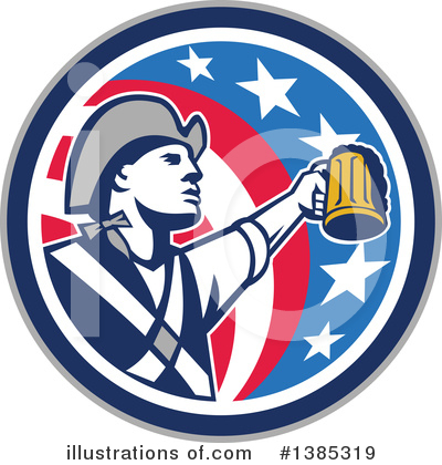 Patriot Clipart #1385319 by patrimonio