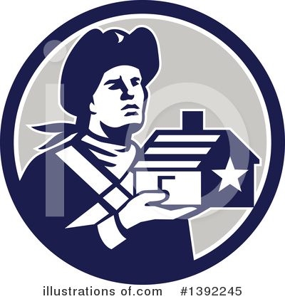 Patriot Clipart #1392245 by patrimonio