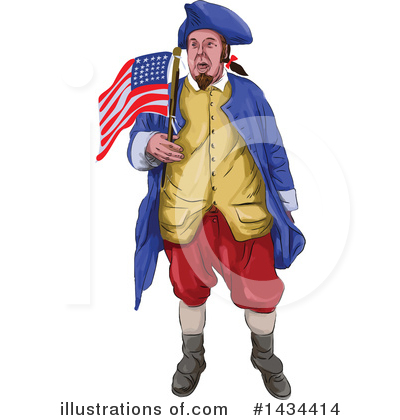 Patriot Clipart #1434414 by patrimonio