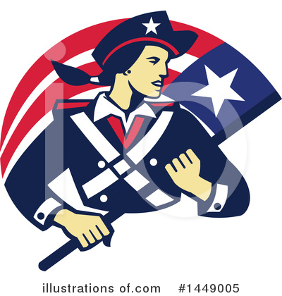 Patriot Clipart #1449005 by patrimonio