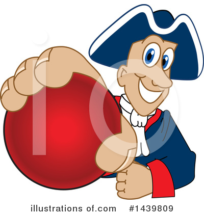 Dodgeball Clipart #1439809 by Toons4Biz