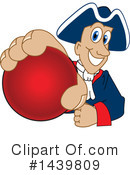 Patriot Mascot Clipart #1439809 by Toons4Biz