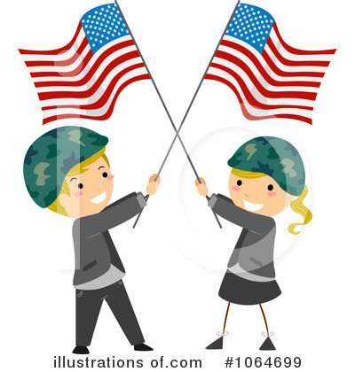 Memorial Day Clipart #1064699 by BNP Design Studio