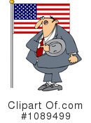 Royalty-Free (RF) Patriotic Clipart Illustration #1089499