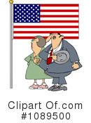 Royalty-Free (RF) Patriotic Clipart Illustration #1089500