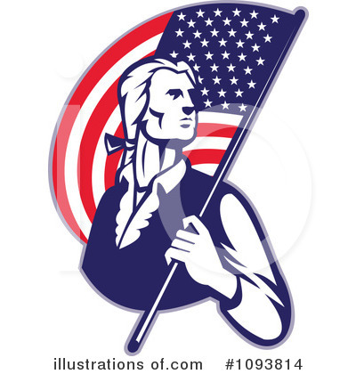 Memorial Day Clipart #1093814 by patrimonio