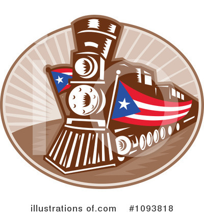 Train Clipart #1093818 by patrimonio