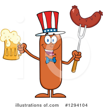 Beer Clipart #1294104 by Hit Toon