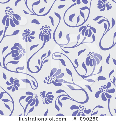 Floral Clipart #1090280 by Cherie Reve