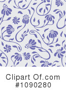 Royalty-Free (RF) Pattern Clipart Illustration #1090280