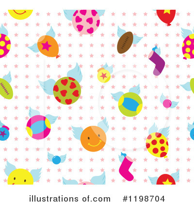 Royalty-Free (RF) Pattern Clipart Illustration by Cherie Reve - Stock Sample #1198704