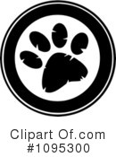 Paw Print Clipart #1095300