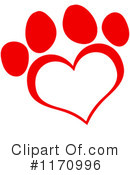 Paw Print Clipart #1170996