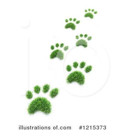Footprint Clipart #1215373 by Mopic