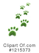 Paw Print Clipart #1215373 by Mopic