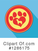 Paw Print Clipart #1286175