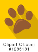 Paw Print Clipart #1286181