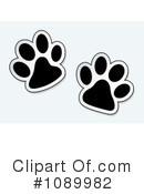 Paw Prints Clipart #1089982