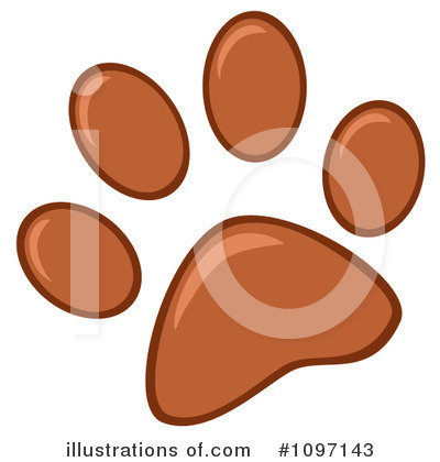 Footprint Clipart #1097143 by Hit Toon