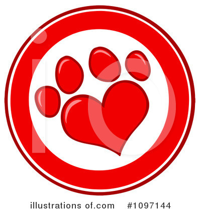 Footprint Clipart #1097144 by Hit Toon