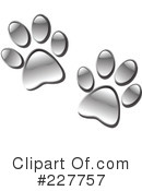 Paw Prints Clipart #227757