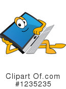 Pc Computer Mascot Clipart #1235235 by Toons4Biz