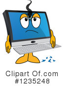 Pc Computer Mascot Clipart #1235248 by Toons4Biz