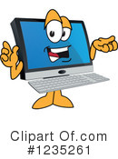 Pc Computer Mascot Clipart #1235261 by Toons4Biz