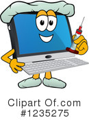 Pc Computer Mascot Clipart #1235275 by Toons4Biz