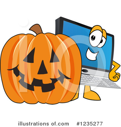 Pc Computer Mascot Clipart #1235277 by Toons4Biz