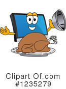 Pc Computer Mascot Clipart #1235279 by Toons4Biz