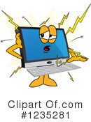 Pc Computer Mascot Clipart #1235281 by Toons4Biz