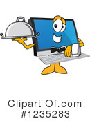 Pc Computer Mascot Clipart #1235283 by Toons4Biz