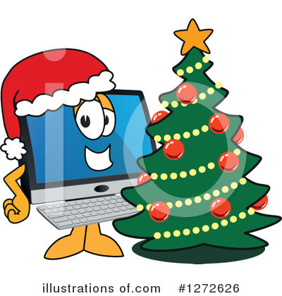 Pc Computer Mascot Clipart #1272626 by Toons4Biz