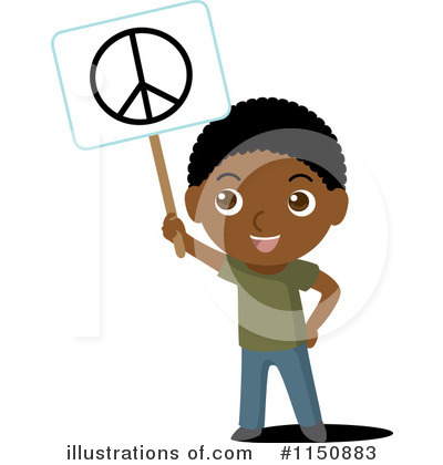 World Peace Clipart #1150883 by Rosie Piter