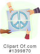 Royalty-Free (RF) Peace Clipart Illustration #1399870