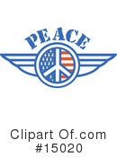 Royalty-Free (RF) Peace Clipart Illustration #15020