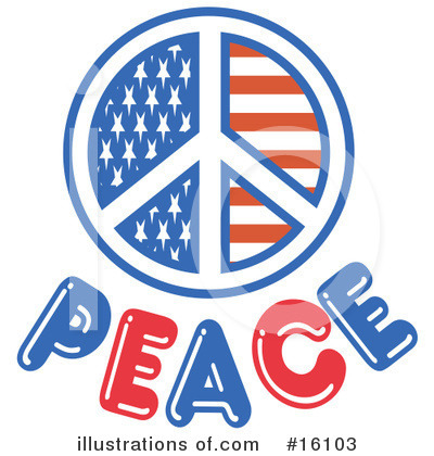 Royalty-Free (RF) Peace Clipart Illustration by Andy Nortnik - Stock Sample #16103