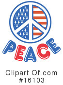 Royalty-Free (RF) Peace Clipart Illustration #16103