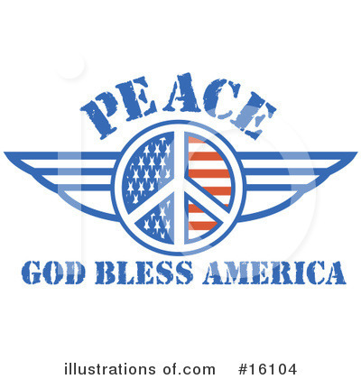 Royalty-Free (RF) Peace Clipart Illustration by Andy Nortnik - Stock Sample #16104